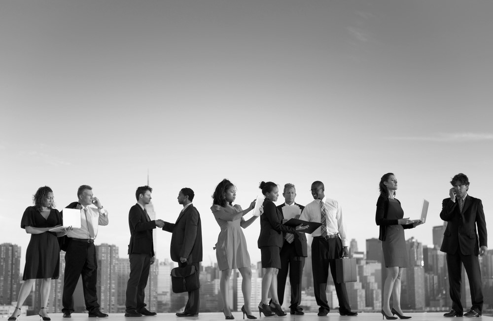 'Spend time with the right people to achieve success,' states Tom Harris of London Sales Execs